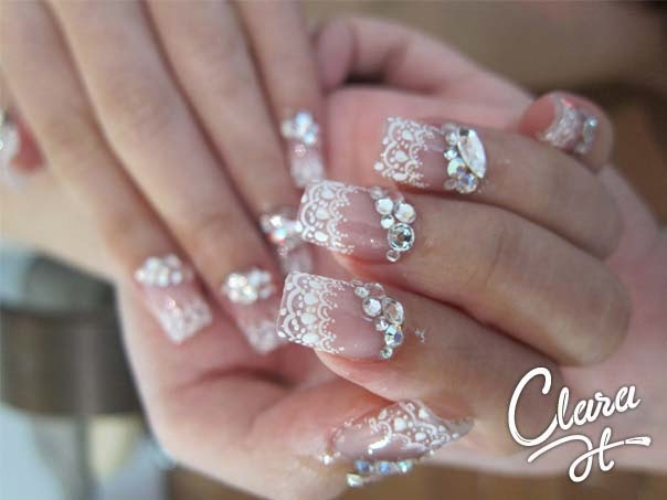 Fashionable Nail Art Ideas Creative Concepts Bride Nail Designs Pictures