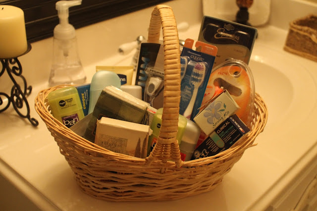 Texas Decor Guest Basket Things To Have On Hand When Hosting Guests