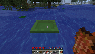 green blob drowning minecraft