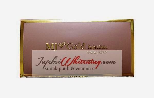 Mj's Gold Whitening Injection, mj gold injeksi whitening, mj's gold injection osaka japan, mj gold suntik putih, mj gold Injeksi