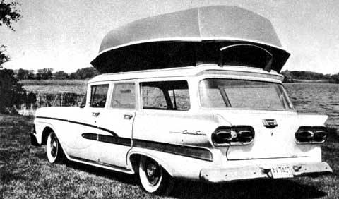 ford clarion camper