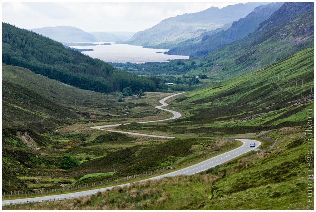 Sunday afternoon strathcarron to gairloch 47 miles diary of a 415 viewpoint above loch maree malvernweather Choice Image