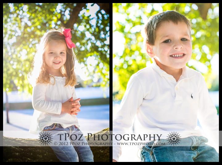 Family Portrait Towson kids