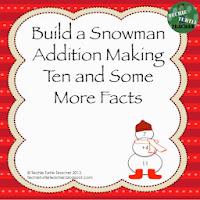 http://www.teacherspayteachers.com/Product/Build-a-Snowman-Addition-Facts-Making-Ten-Some-More-999954