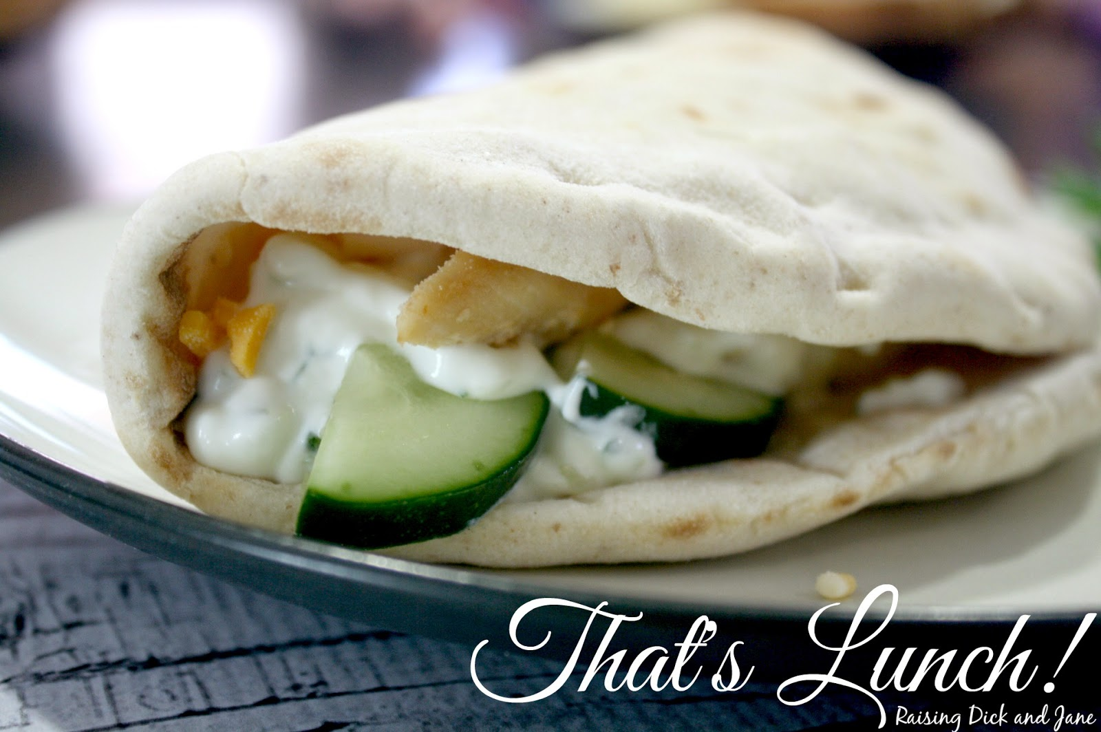 ... and Jane: #ad Chicken Breast Gyro with Homemade Cucumber Sauce Recipe
