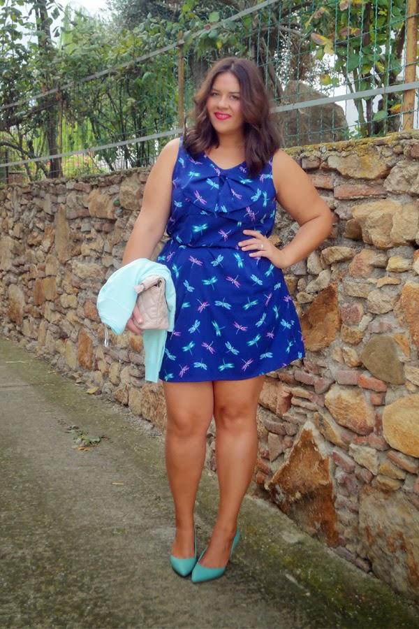 Capitulo aida soraya vestido azul