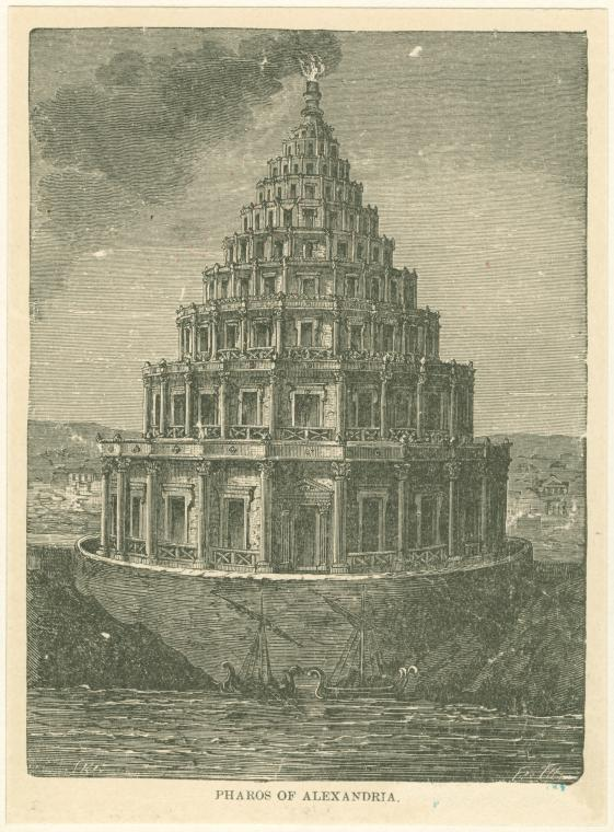 Pharos of Alexandria(1899)