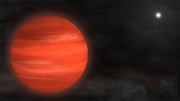 Astrônomos encontram corpo celeste 12,8 vezes maior que Júpiter