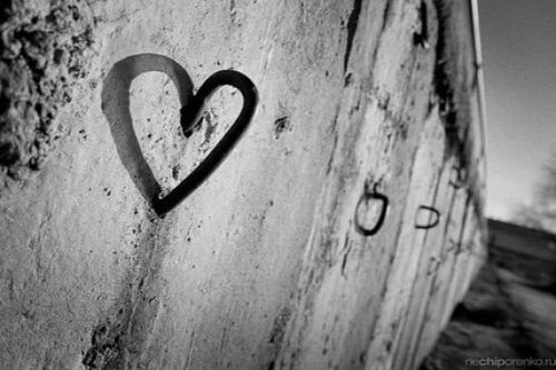 black and white photography love heart. lack and white photography