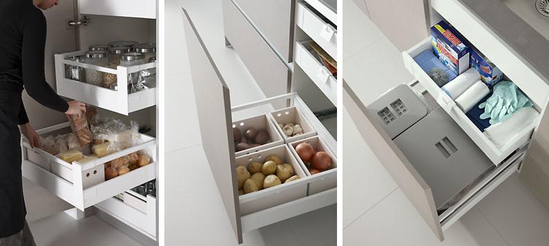 de la cocina y lavadero como zonas separadas  Cocinas con estilo