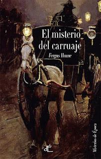 Fergus Hume, sorteos, novela detectivesca del siglo XIX