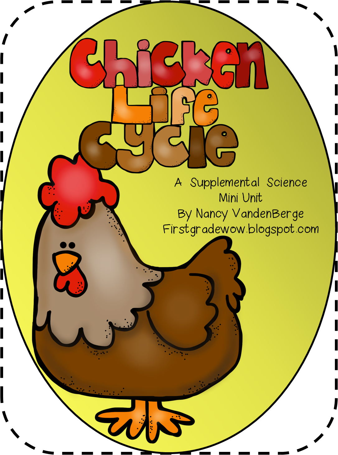 First Grade Wow Animal Feet and Chicken Life Cycle – Chicken Life Cycle Worksheet