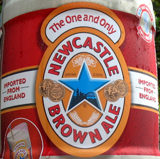 Newcastle ale goes down smooth
