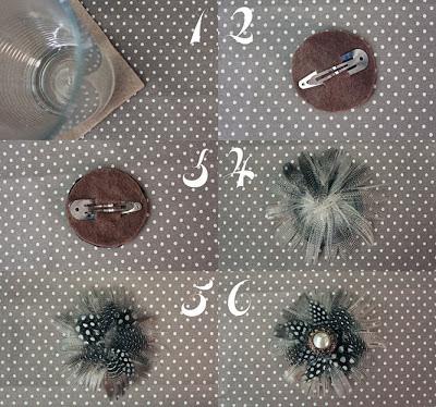 Cómo hacer tocados con pendientes en Recicla Inventa