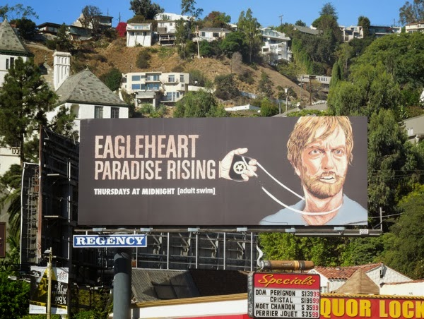 Eagleheart Paradise Rising billboard