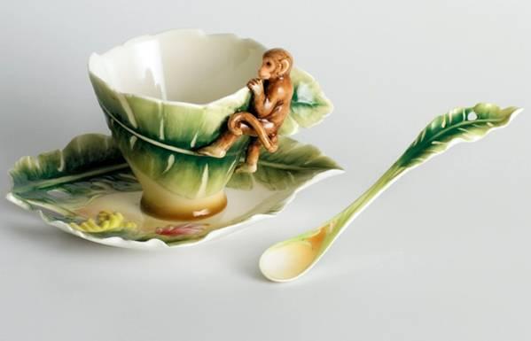 مجموعة رائعة فناجين القهوة