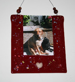 Pet Memorial Cremains Photo Wall Hanging
