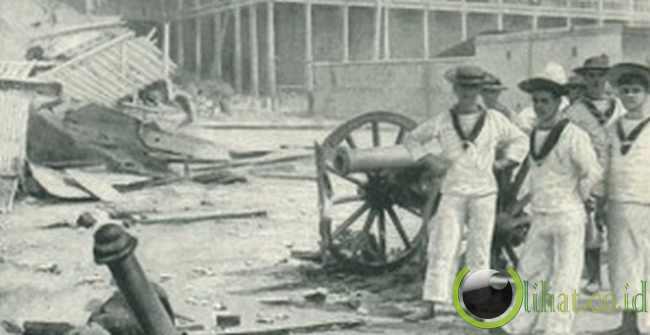 Anglo-Zanzibar War, 45 minutes