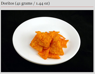 doritos - 200 calories