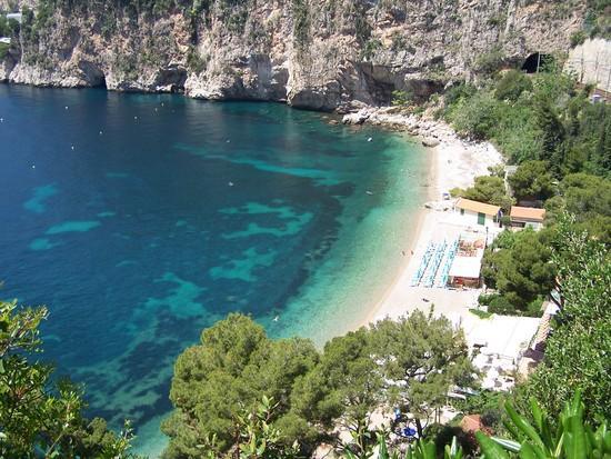 Cap-d'Ail France  city images : Gay French Riviera: Cap d'Ail Mala Beach Coastal Trail