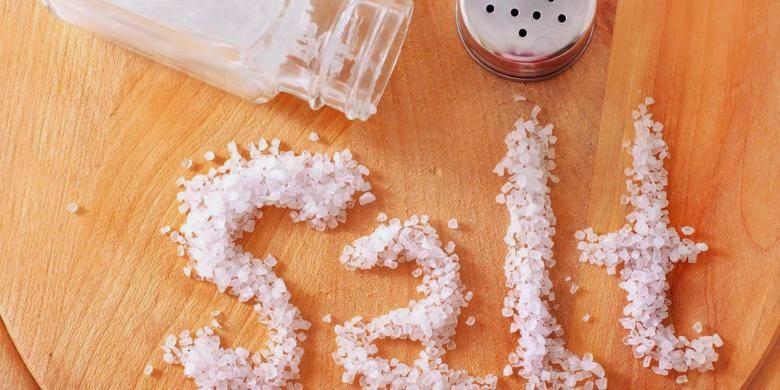 kebanyakan garam menjadikan penyakit jantung