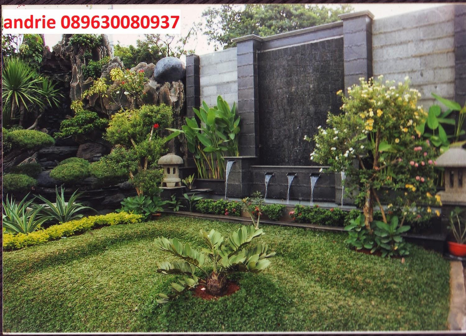 tukang taman minimalis pembuat taman saung taman