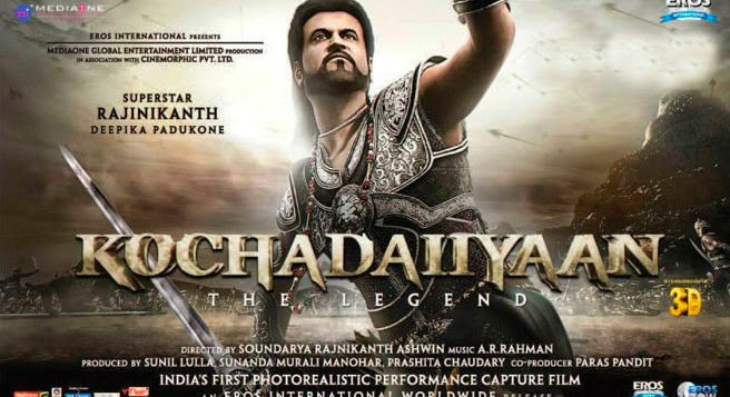 Rajnikant Movies, Rajnikant, Kochadaiiyaan Movie Online, Kochadaiiyaan Hindi Movie