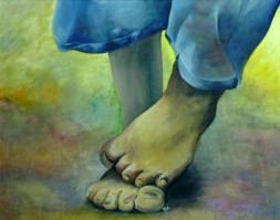Que significa soñar con estar descalzo