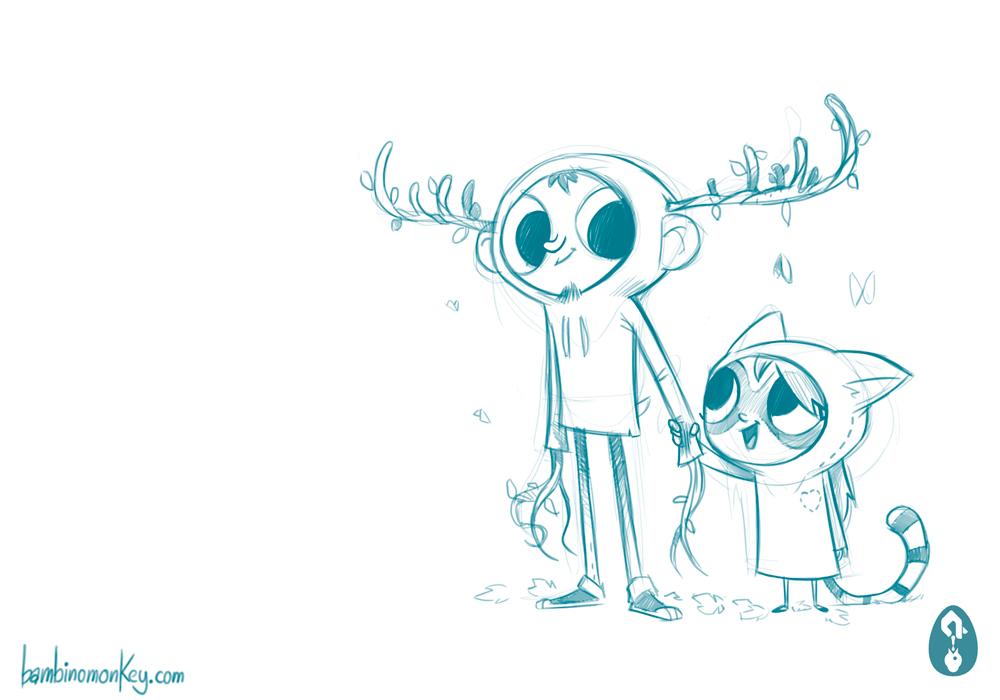 Character Design Portfolio Websites : Bambinomonkey character design portfolio