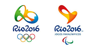 Logo Olimpíadas Rio 2016 e Paralimpíadas Rio 2016 - Agência Tátil