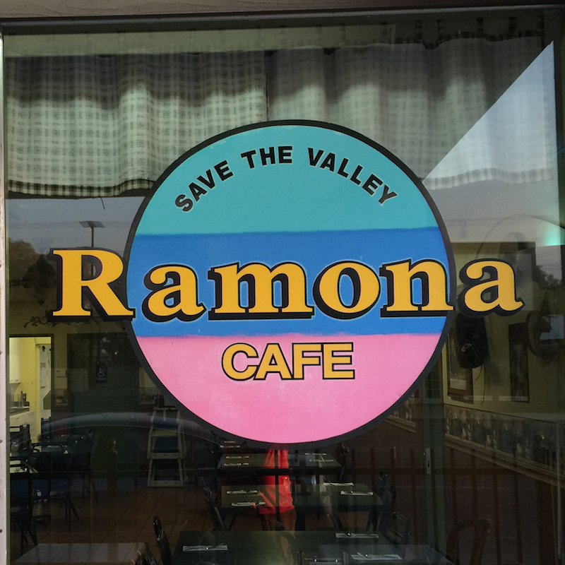 Ramona Cafe in Ramona, CA near San Diego