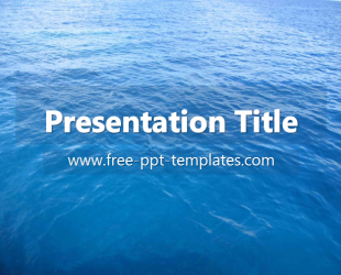 Ocean PPT Template | Free PowerPoint Templates