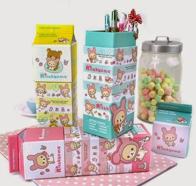 rilakkuma pencil boxes at CoolPencilCase.com