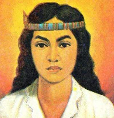 gambar pahlawan nasional - Martha Christina Tiahahu