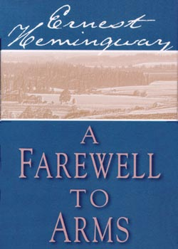 a farewell to arms 4 essay Words: 1383 length: 4 pages document type: essay paper #: 26517127 farewell to arms ernest hemingway was indelibly impacted by his experiences both with war and romantic love, which is why love and war feature together prominently in novels like a farewell to arms.