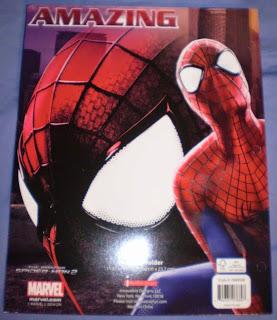 Back cover of Amazing Spider-Man portfolios 2014 edition #4
