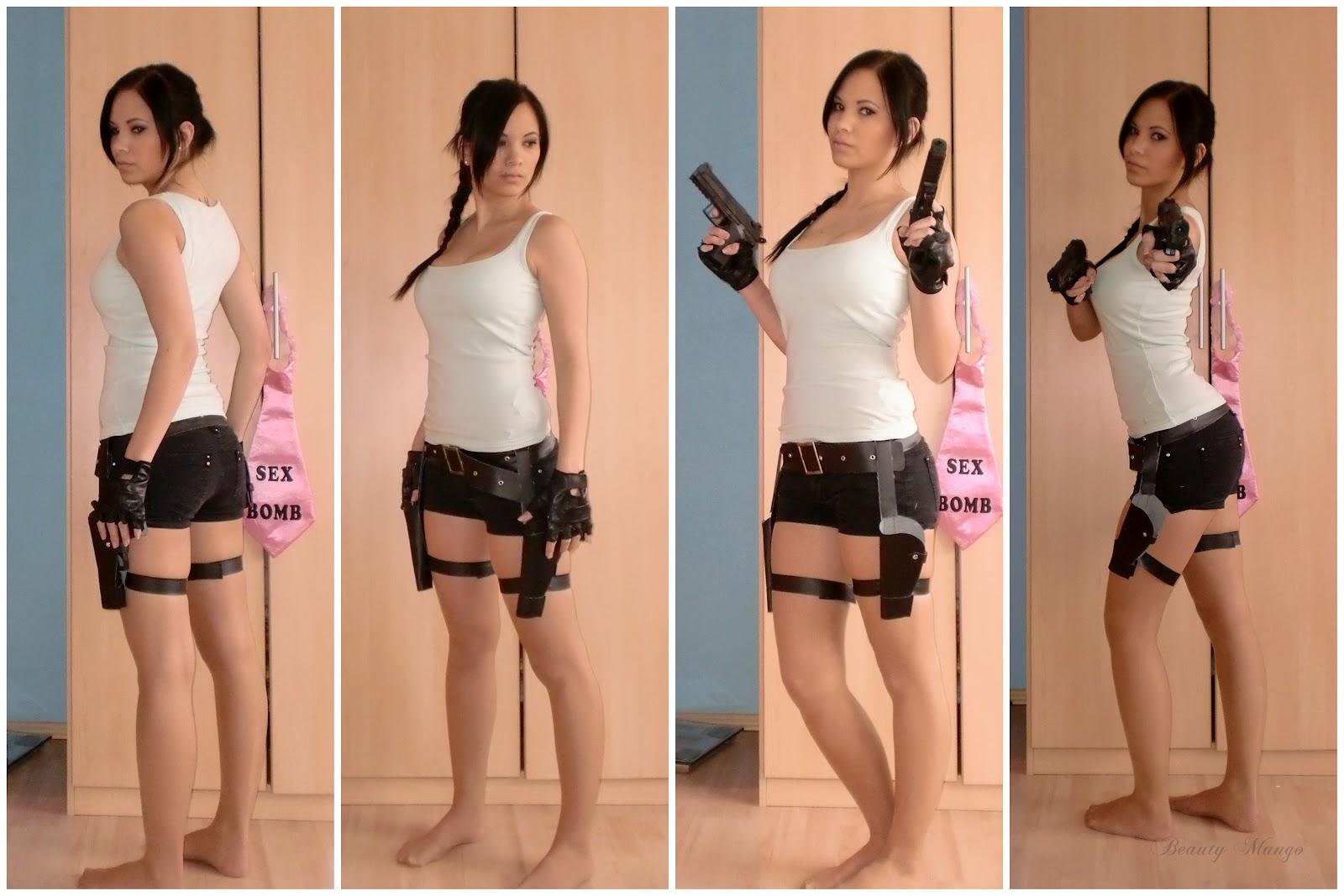 Fasching Lara Croft In Tomb Raider Beauty Mango