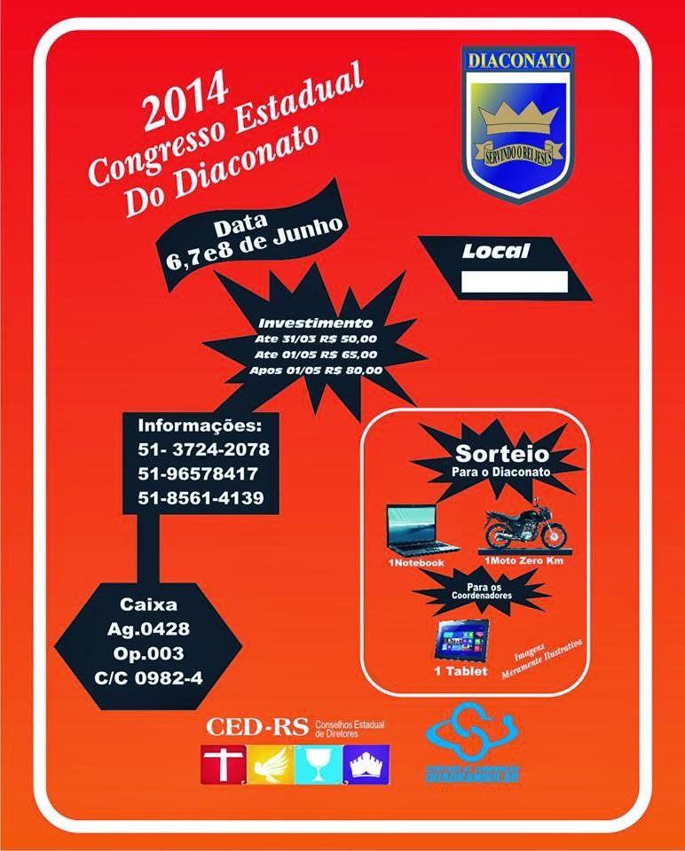 CONGRESSO ESTADUAL DIACONATO 2014