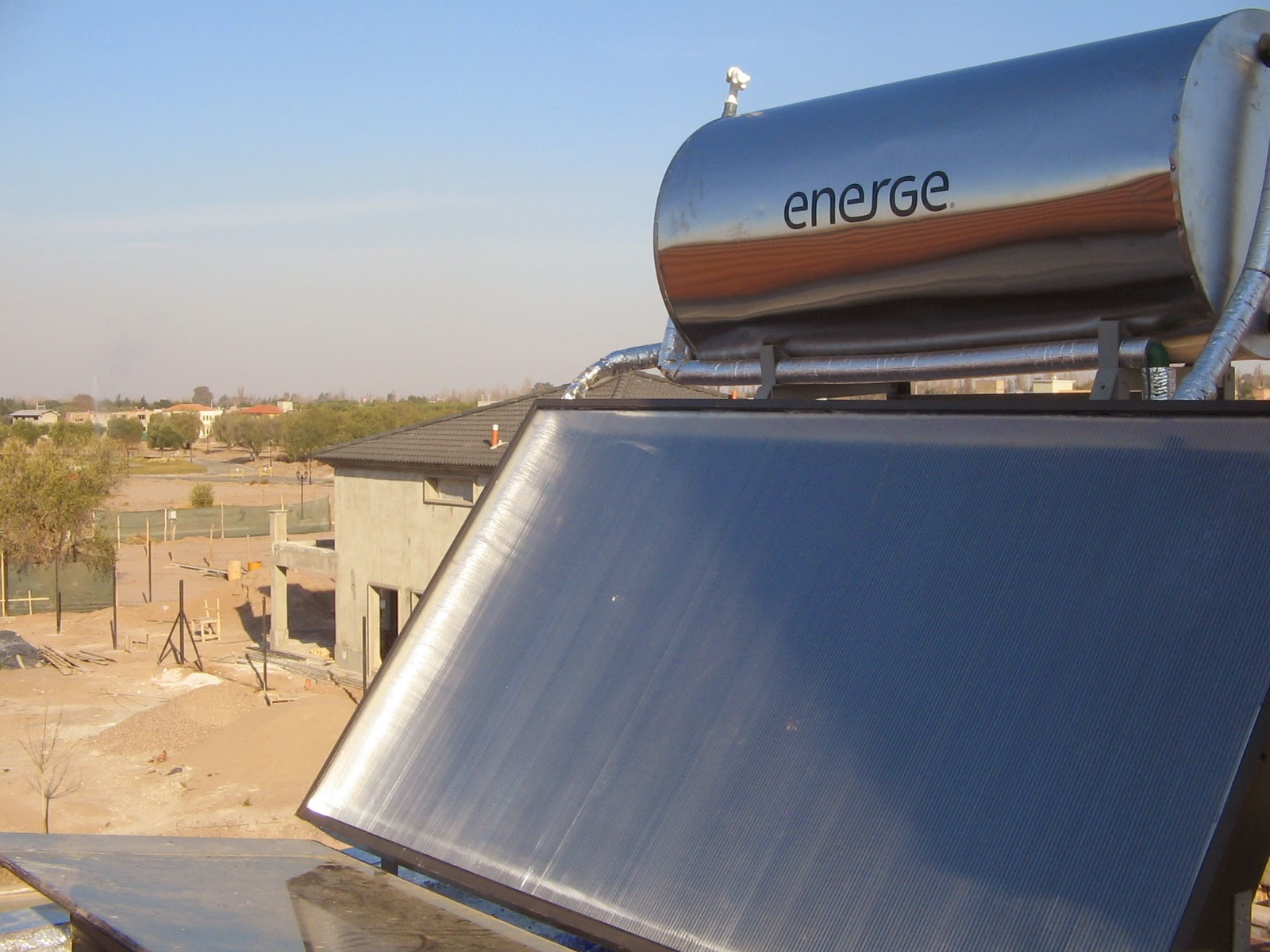 "Solar Water Heaters: A Great ""Green Plumbing"" Option"