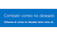 Outlook invita a combatir el correo Basura