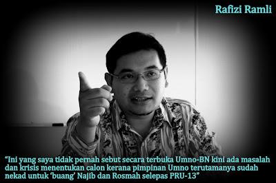 Pengarah Strategi KEADILAN, Rafizi Ramli