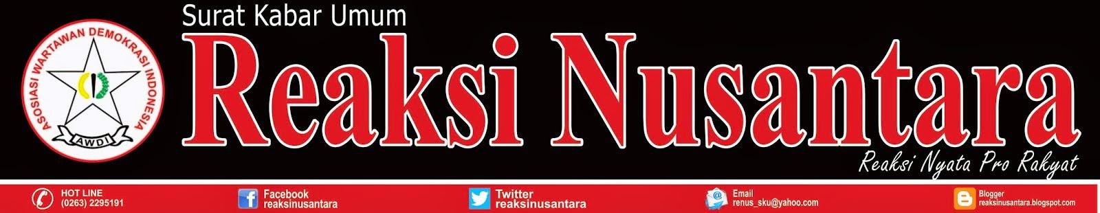 Reaksi Nusantara