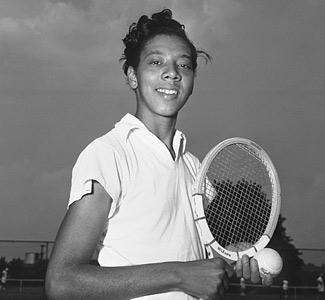 a biography of althea gibson an american tennis player Colorlines screenshot of tennis player althea gibson, taken from  on july 6,  1957, #altheagibson became the first african american to win.