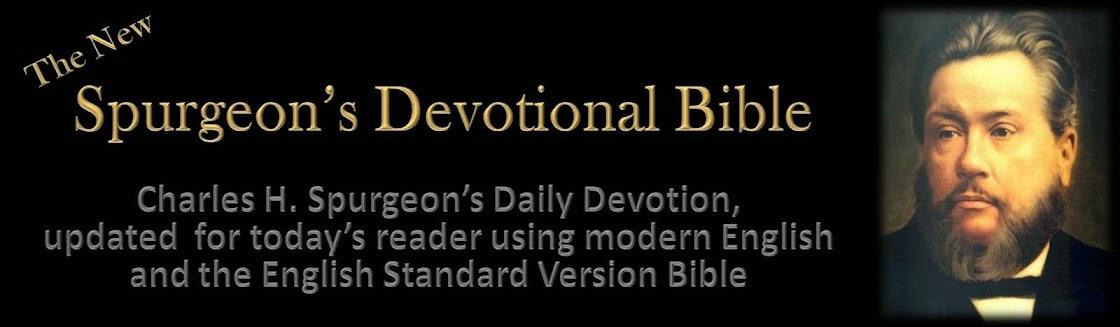 The New Spurgeon's Devotional Bible ESV