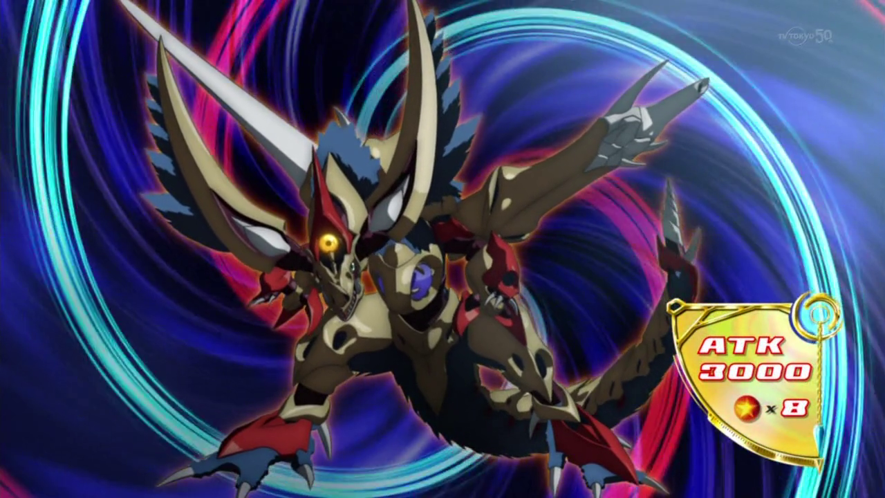 Yugioh arc v rune eyes pendulum dragon