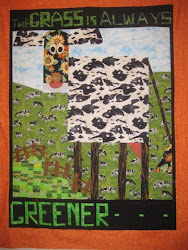 Cow Quilt Says it All-Pam Toombs makes a great Cow quilt!