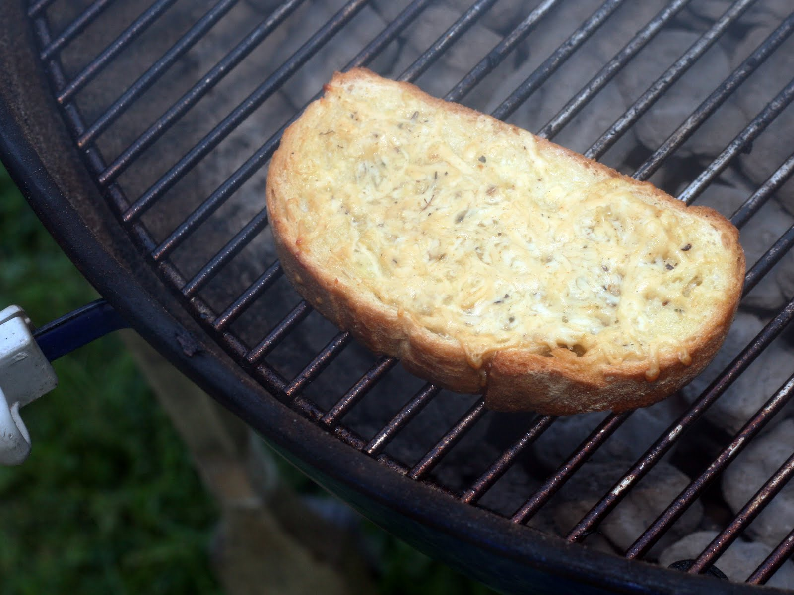 Coconut & Lime // recipes by Rachel Rappaport: Grilled Garlic Bread