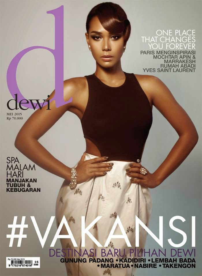 Actress @ Adinia Wirasti for Dewi, May 2015