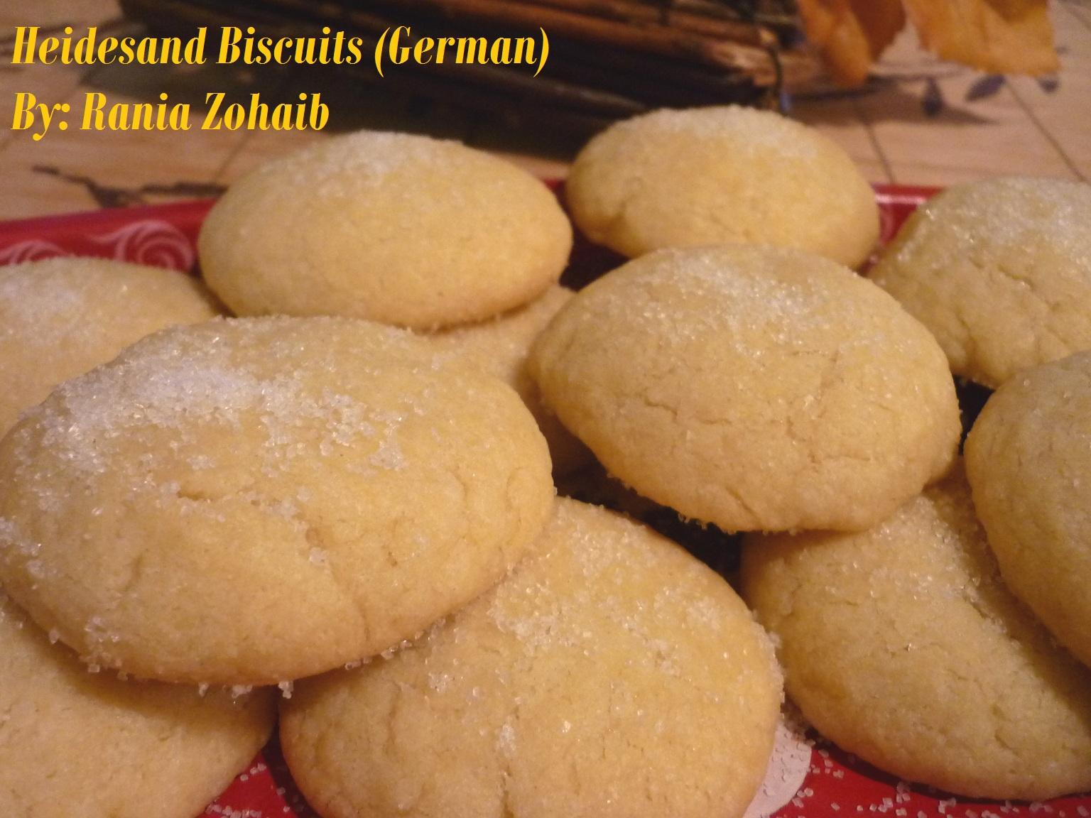Rania Work With Sugar N Spice Heidesand Biscuits German Kekse