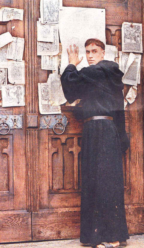 maetin luthers 95 thesis Martin luther studied to be a lawyer before deciding to become a monk did you know luther refused to recant his '95 theses' and was excommunicated from the catholic.